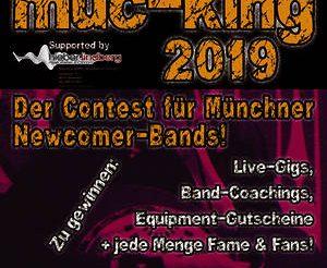 muc-king 2019: Jetzt bewerben!